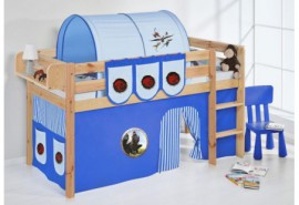 Comprar Camas infantiles semi altas para niños Online | Precios