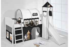 Camas literas de Pepa Pig, Star Wars para dormitorios infantiles